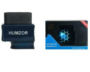Humzor Nexzscan Obdii Car Diagnostic Tool Bluetooth 4 2 Automotive Code Reader