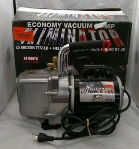 Jb Industries Eliminator Economy Vacuum Pump