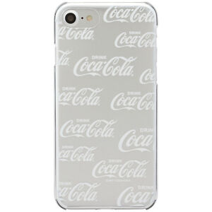 Coca-Cola iPhone7 Hard Case LOGOPATTERN WHITE