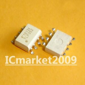 10 Pcs Tlp352 Smd 8 Tlp 352 Logic Output Optocouplers Gate