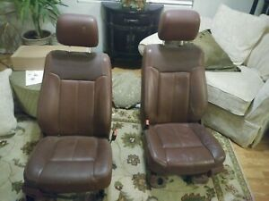 2014 King Ranch F250 Front Seats Bronco