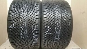 No Shipping Only Local Pick Up 2 Tires 295 30 20 Michelin Pilot Alpin N0