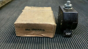 1934 41 Chevrolet Delco Remy Def Heater Switch Nos