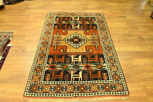 Gorgeous Handwoven 4x6 Yalameh Oriental Area Rug