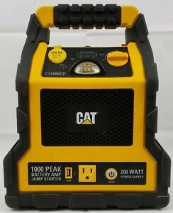 Cat Peak Amp Battery Jump Starter Power Station Compressor Cj1000cp
