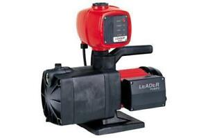 Leader Pumps Ecotronic 230 1 2 Hp Self Priming Multi impeller Pump