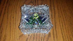 Antique Cut Crystal Candy Dish