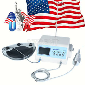 Dental Implant Motor System Brushless Surgical Drill Lcd A cube Azdent Ups