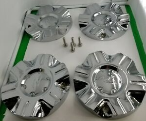 4 Zinik Center Cap Z085 Z 6 Chrome Wheels Center Cap