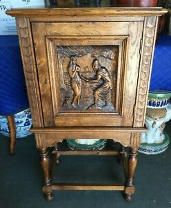 Gothic Revival Bar Cabinet
