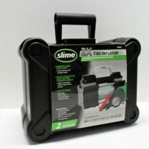 Slime 2x Twin Cylinder Portable Tire Inflator 40026 Inflates In 2 Minutes