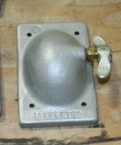 Appleton On off Explosion Proof Switch Cover New