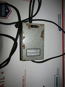 Cool Ring Transformer By Nikon Instruments Division Very Rare Vtg Electronics