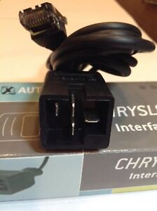 Autoxray Chrysler Interface Cable Obd I Part 20130
