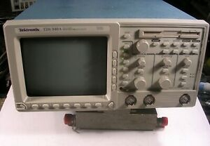 Tektronix Tds340a 100 Mhz 2 Channel Digital Oscilloscope 500 Ms No Handle