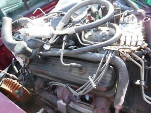 1996 00 Chevy Vortec 350 5 7 Ltakeout Engine 4 Bolt Main Will Ship