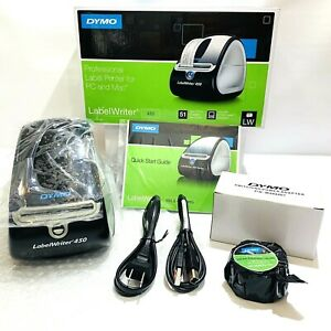 Dymo Labelwriter 450 Professional Thermal Label Printer 1750110 Canning Shipping