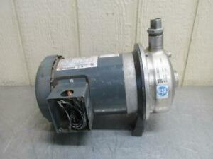 Ebara Model Acdu70 17t3epdm Stainless Steel Centrifugal Pump 39 Gpm 3 Ph