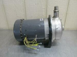 Ebara Model Acdu70 17t3epdm Stainless Steel Centrifugal Pump 39 Gpm 3 Ph 2
