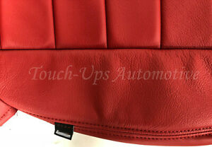 2011 2012 2013 2014 Dodge Challenger Se Sxt Rt Katzkin Leather Seat Covers Red