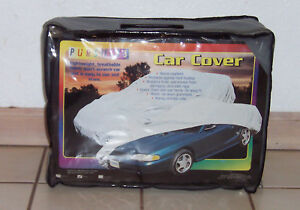 Pursuits Car Cover Large Size Gray New In Box