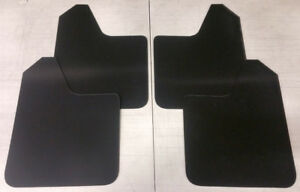 Sale Streetrays Universal 4 Mud Rock Guard Flaps Starter Set Black No Hardware