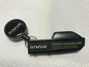 New Invue Security Key S3 om Combo Key Am For Locking Slatwall Hooks
