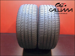 2 Two Tires Excellent Michelin 245 45 19 Primacy Mxv4 102v Runflat Bmw 49562