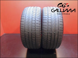 2 Two Tires Excellent Pirelli 255 40 18 Cinturato P7 95y Runflat Oem Bmw 49563