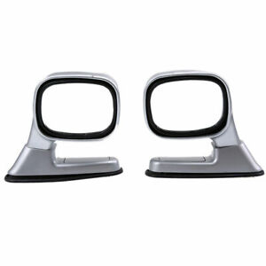 2pcs Car Auto Reflector Rearview Mirror Side Mirror Exterior Assembly Universal