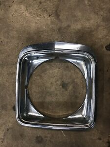 1975 Chevrolet Chevelle Malibu Right Headlight Bezel