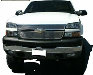 Precision Grille 601295 Polished Billet Aluminum 2005 2009 Chevy Silverado Hd