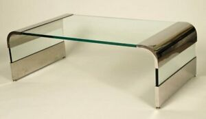 Rosen For Pace Waterfall Coffee Table Mid Century
