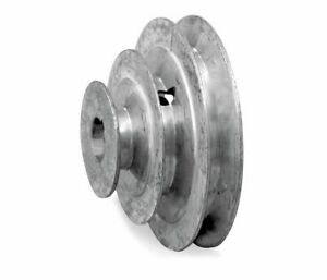 5 Diameter 3 Step Pulley Fixed Bore Sca Die Cast By Congress