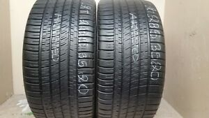 2 Tires 285 35 20 Michelin Pilot Sport As 3