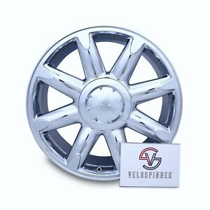 Single New 20 Gmc Sierra Denali Yukon Xl 1500 2007 2014 Chrome Wheel Rim 5304