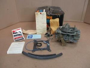 Vintage Nos Holley List 6909 Carburetor In Original Box With Tags Rare Find