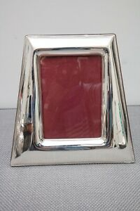 Italian Sterling Silver Picture Frame 5x7 By Arsal Argenterie Sacco Alessandria
