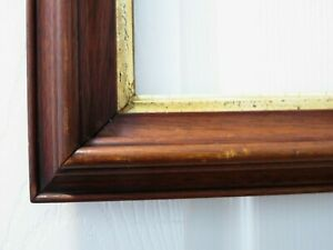 Antique Walnut Wood Picture Frame For Picture Size 9 3 8 X 11 3 8