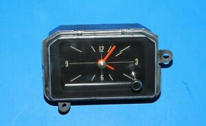 1971 1972 1973 Buick Riviera Borg Instruments Dash Clock Assembly Works