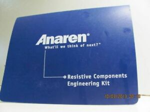 new Anaren Resistive Components Engineering Kit