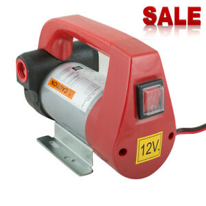 Oil Diesel Fuel Transfer Pump Extractor Electric Scavenge Suction 155w Portable