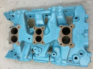Pontiac Tri Power Intake Manifold Gm 9770275