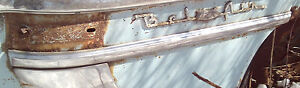 1953 Chevrolet Belair 4 Door Thin Molding On Top Of Gravel Shield Lr