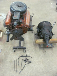 1957 Chevrolet 283 Power Pack 4 Bbl Engine Transmission Corvette Near Complete