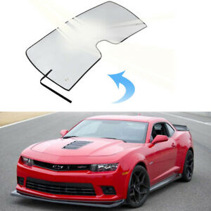 Front Window Uv Reflective Windshield Sun Shade Visor Shield For Chevy Camaro b