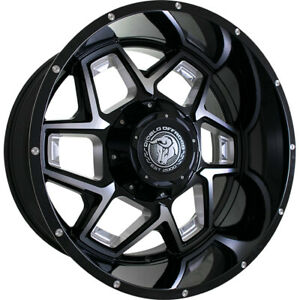 22x12 Black Machined Do3 6x135 6x5 5 44 Wheels Country Hunter Mt 33 Tires