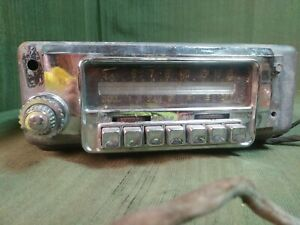 Vintage Old Antique Original Mopar Model 814 Dodge Car Dash Radio Retro Classic