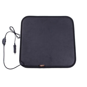 Facon 12volt Heated Seat Cushion With 3 way Temperature Controller For Car Truck