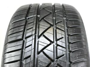 4 Continental Surecontact Rx 225 45zr17 91w Used Tire 9 10 32 102374